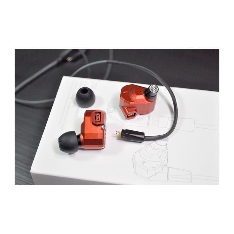 Гибридные внутриканальные наушники KZ (Knowledge Zenith) ZS6 с гарнитурой и съемным кабелем 1,2 м: 15 Ом, 105дБ, 7-40000Гц 215242