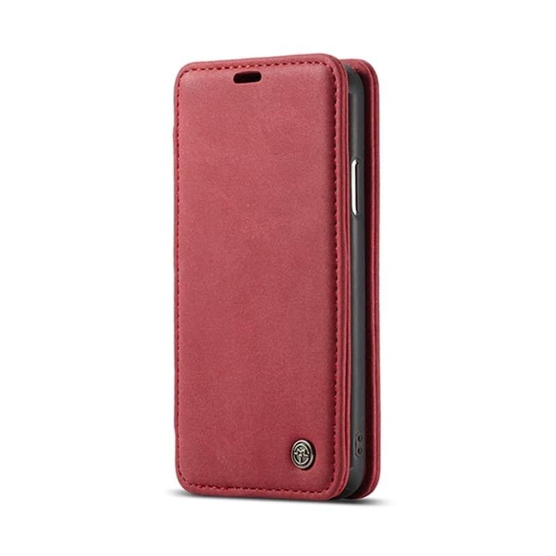 Кожаный чехол CaseMe H1 с кольцом-держателем и слотами для карт для iPhone X + TPU съемная задняя крышка-бампер 215279