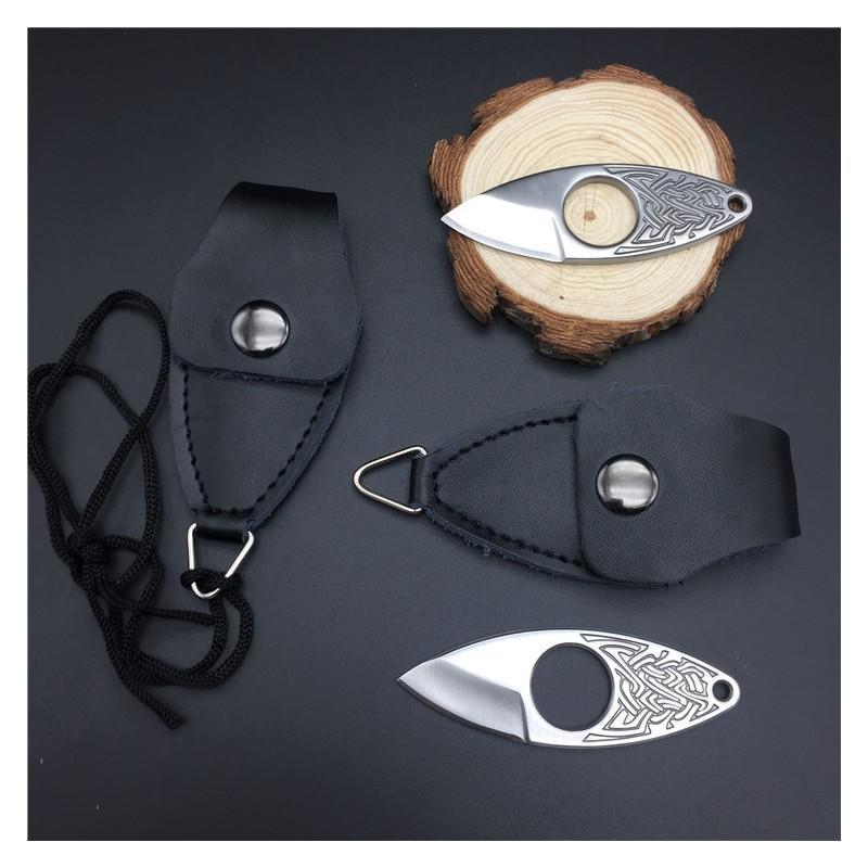 EDC мини нож коготь из нержавеющей стали с гравировкой 215367