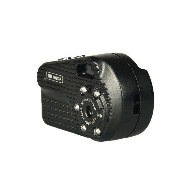 Портативная Ultra-HD 1080p мини-камера с функцией ночного видения и поддержкой TF-карт