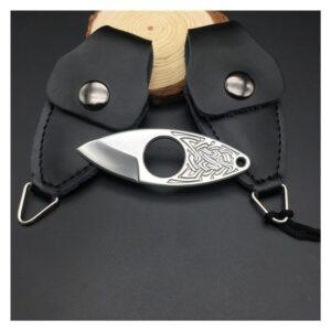 EDC мини нож коготь из нержавеющей стали с гравировкой