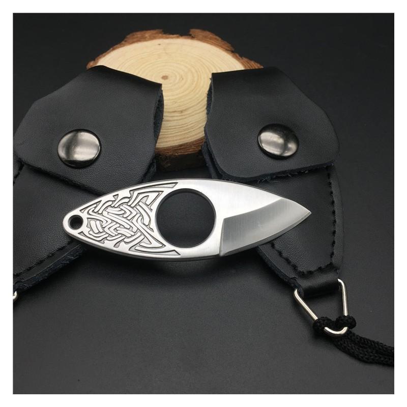 EDC мини нож коготь из нержавеющей стали с гравировкой 215376
