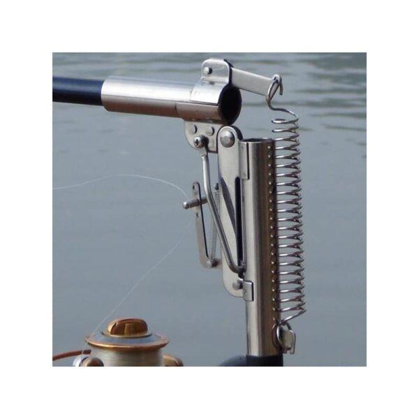 39938 - Самоподсекающая телескопическая удочка FisherGoMan 2,7 м: стеклопластик, кольца из металлокерамики, держатель удилища