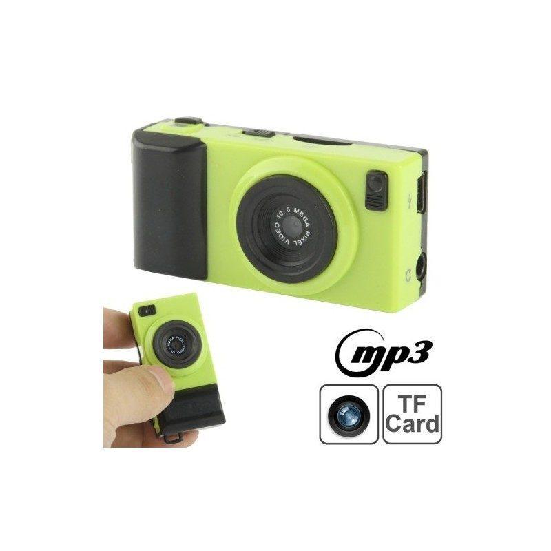 Цифровая 0,3-мегапиксельная мини-камера с MP3-плеером и поддержкой карт TF
