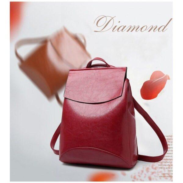 40015 - Многофункциональная сумка-рюкзак VoogyVoo: PU-кожа