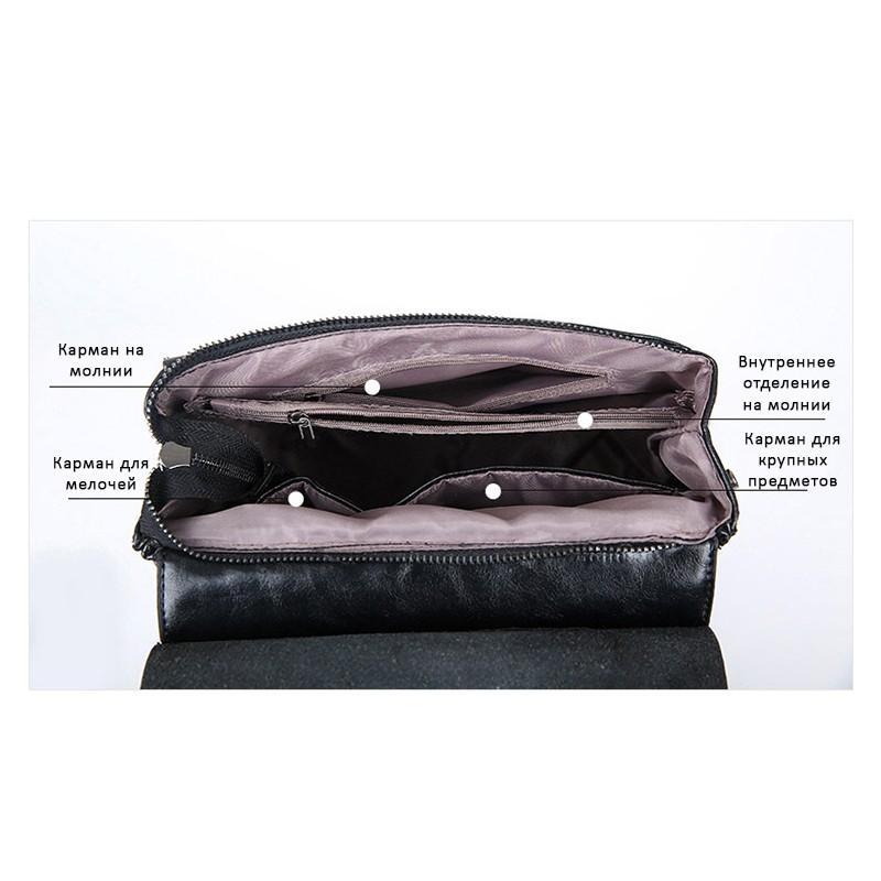Многофункциональная сумка-рюкзак VoogyVoo: PU-кожа 215516