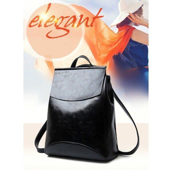 40021 - Многофункциональная сумка-рюкзак VoogyVoo: PU-кожа