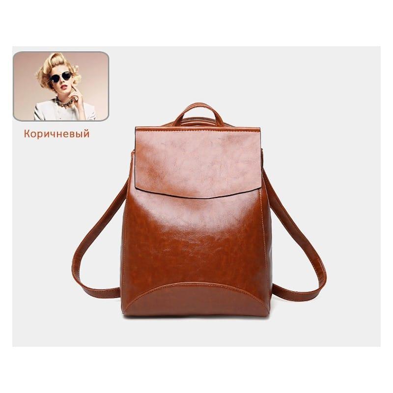 Многофункциональная сумка-рюкзак VoogyVoo: PU-кожа 215521