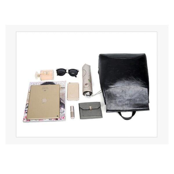 40026 - Многофункциональная сумка-рюкзак VoogyVoo: PU-кожа