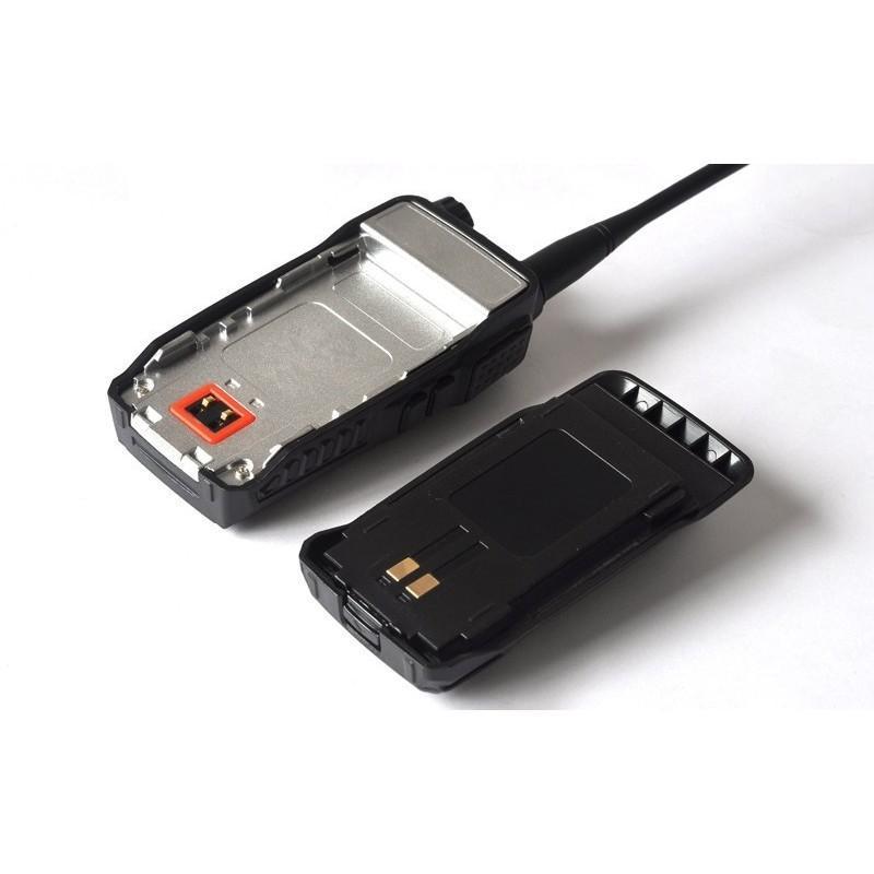 Набор УВЧ раций Walkie Talkie большого радиуса действия (3-5 км, 220 В, 400 – 469.995 МГц, поддержка FM) – 2 штуки в комплекте