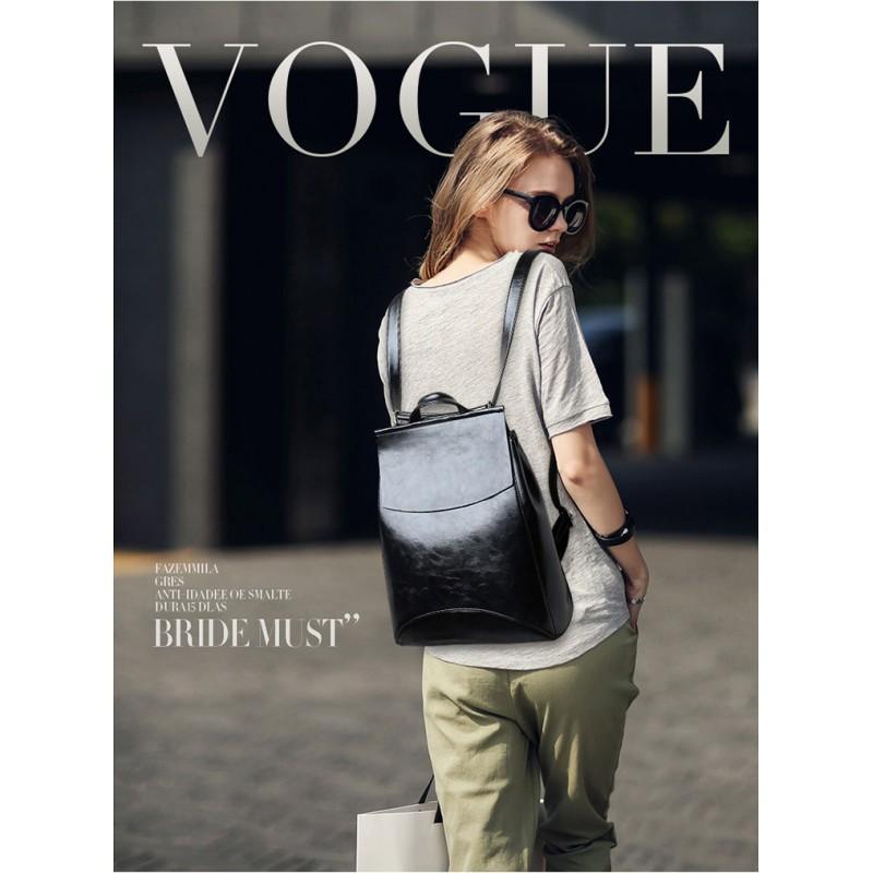 Многофункциональная сумка-рюкзак VoogyVoo: PU-кожа 215534