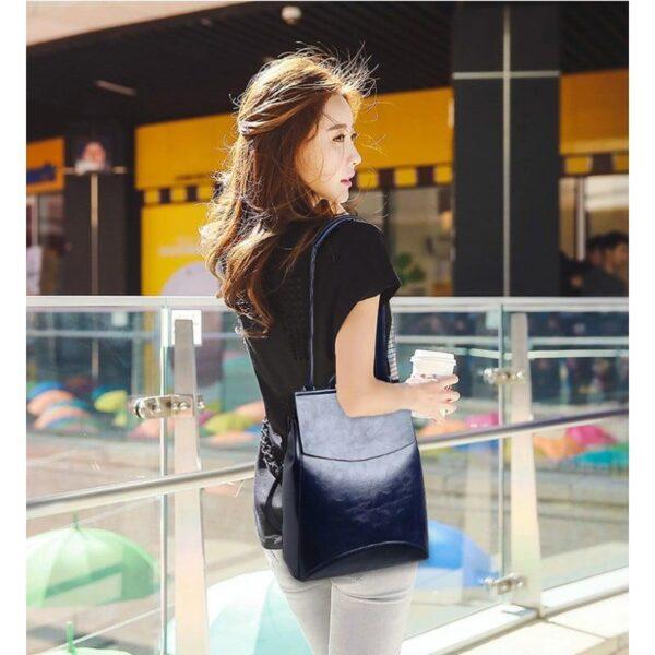 40038 - Многофункциональная сумка-рюкзак VoogyVoo: PU-кожа