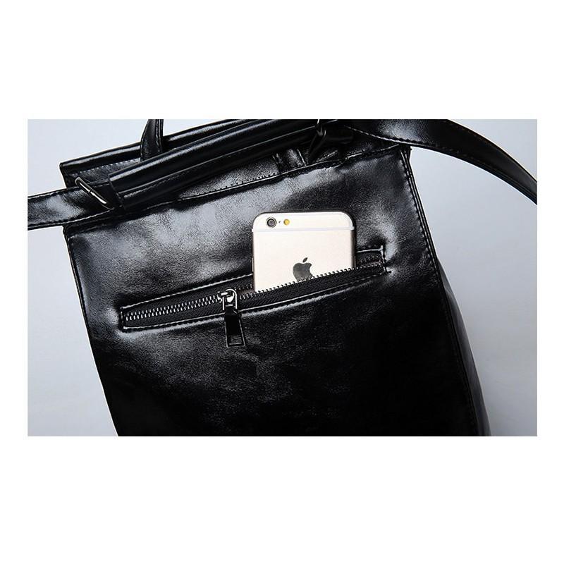 Многофункциональная сумка-рюкзак VoogyVoo: PU-кожа 215538