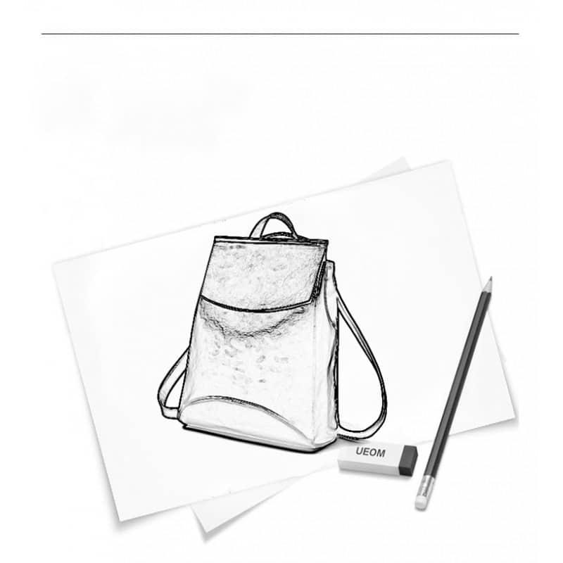 Многофункциональная сумка-рюкзак VoogyVoo: PU-кожа 215540