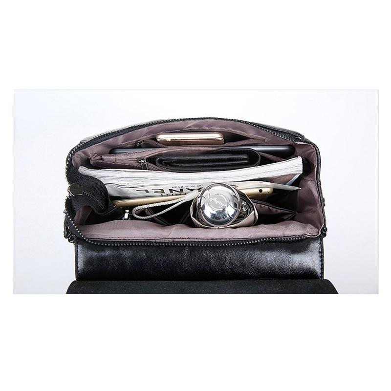 Многофункциональная сумка-рюкзак VoogyVoo: PU-кожа 215542