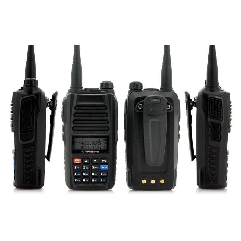 Набор УВЧ раций Walkie Talkie большого радиуса действия (3-5 км, 220 В, 400 – 469.995 МГц, поддержка FM) – 2 штуки в комплекте 186351