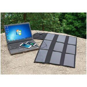 Портативное солнечное зарядное Allpowers 36 Вт: 2 USB-порт 5В/2 А, 1 порт DC 18В/1А для зарядки ноутбука