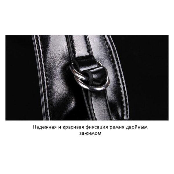 40105 - Стильная мужская сумка-рюкзак Locoer Backpack: PU кожа, 3 цвета, регулируемый ремень, 3 варианта ношения