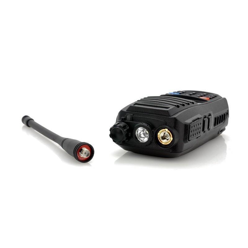 Набор УВЧ раций Walkie Talkie большого радиуса действия (3-5 км, 220 В, 400 – 469.995 МГц, поддержка FM) – 2 штуки в комплекте 186354