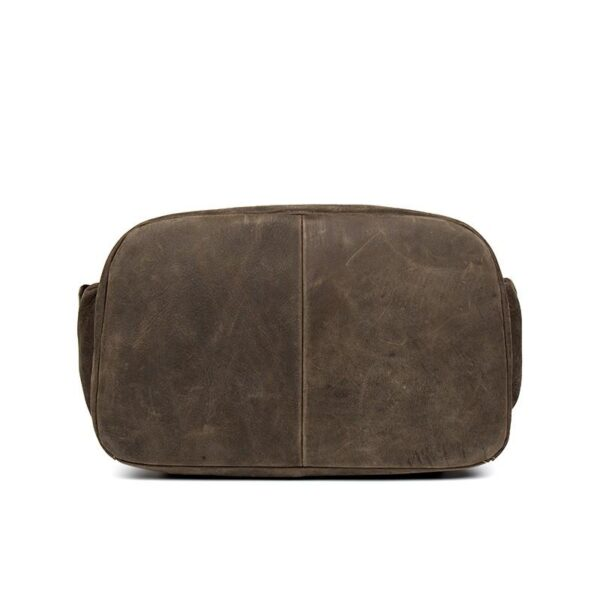 40186 - Вместительный городской рюкзак Coral Royal из натуральной кожи в стиле Craze Horse: кожа первый слой, унисекс