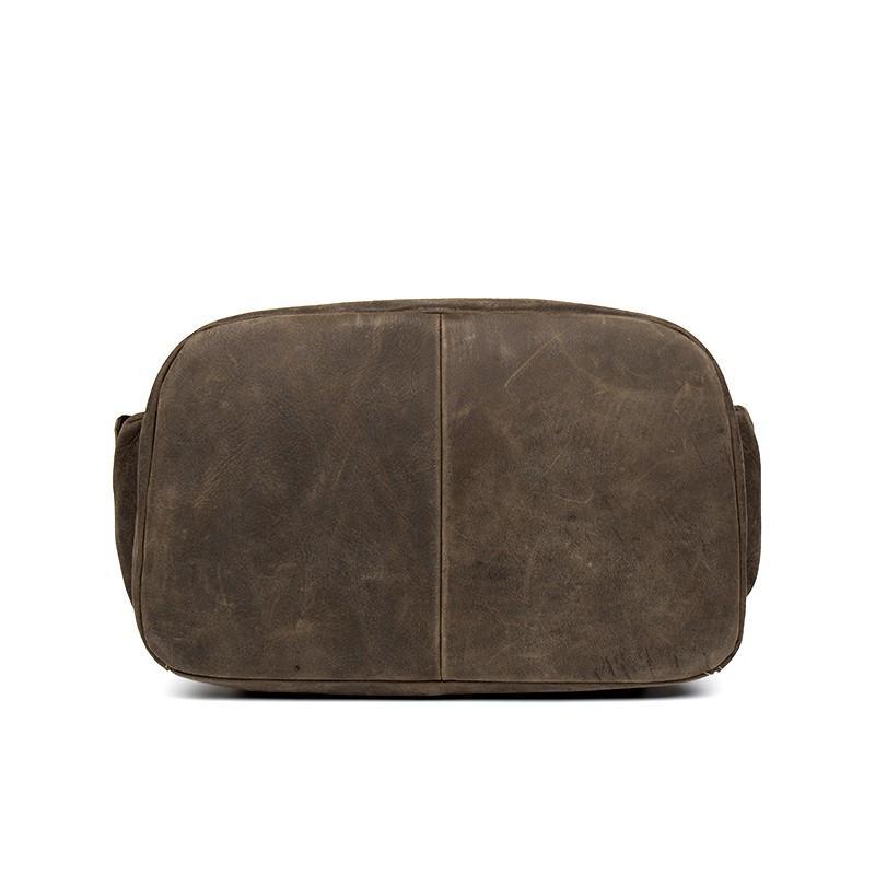 Вместительный городской рюкзак Coral Royal из натуральной кожи в стиле Craze Horse: кожа первый слой, унисекс 215652