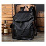 40195 thickbox default - Вместительный городской рюкзак Coral Royal из натуральной кожи в стиле Craze Horse: кожа первый слой, унисекс