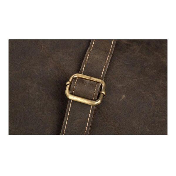 40215 - Вместительный городской рюкзак Coral Royal из натуральной кожи в стиле Craze Horse: кожа первый слой, унисекс