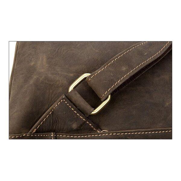 40217 - Вместительный городской рюкзак Coral Royal из натуральной кожи в стиле Craze Horse: кожа первый слой, унисекс