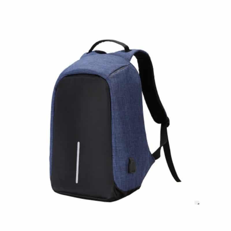 Городской рюкзак-антивор Bobby с защитой от карманников и USB-портом для зарядки: водонепроницаемая ткань с защитой от порезов 215685