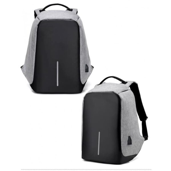 40242 - Городской рюкзак-антивор Bobby с защитой от карманников и USB-портом для зарядки: водонепроницаемая ткань с защитой от порезов
