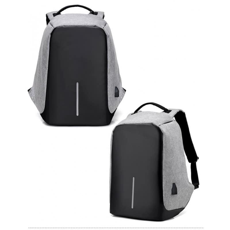 Городской рюкзак-антивор Bobby с защитой от карманников и USB-портом для зарядки: водонепроницаемая ткань с защитой от порезов 215706