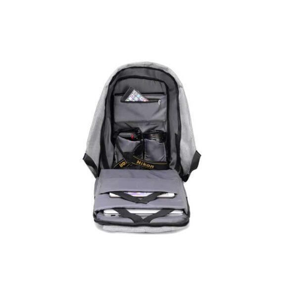 40251 - Городской рюкзак-антивор Bobby с защитой от карманников и USB-портом для зарядки: водонепроницаемая ткань с защитой от порезов