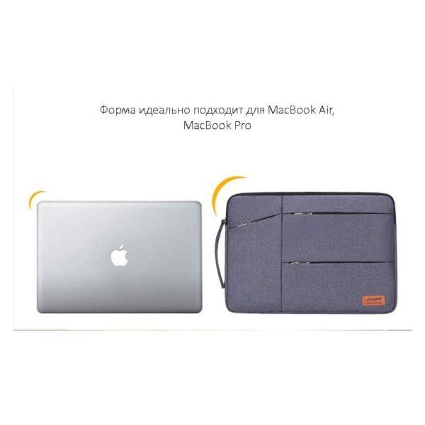 40271 - Водозащищенная сумка для ноутбука диагональю 13, 14, 15 дюймов Sihan Mol