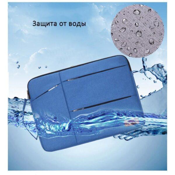 40281 - Водозащищенная сумка для ноутбука диагональю 13, 14, 15 дюймов Sihan Mol