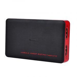 Внешнее устройство видеозахвата (цифровой видеорекордер) Ezcap 261: запись видео 1080р 60 FPS, USB 3.0, оцифровка видеокассет