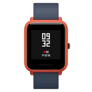 Смарт-часы Xiaomi Huami Amazfit Bip: 1,28″ OLED экран, Bluetooth вызовы, СМС, IP68, шагомер, пульсометр, GPS, заряд на 45 дней
