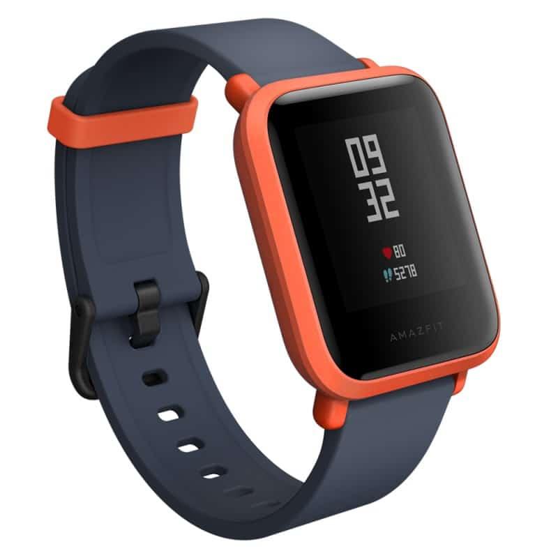 Смарт-часы Xiaomi Huami Amazfit Bip: 1,28″ OLED экран, Bluetooth вызовы, СМС, IP68, шагомер, пульсометр, GPS, заряд на 45 дней 215826