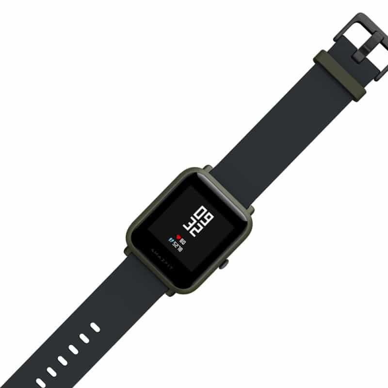 Смарт-часы Xiaomi Huami Amazfit Bip: 1,28″ OLED экран, Bluetooth вызовы, СМС, IP68, шагомер, пульсометр, GPS, заряд на 45 дней 215827