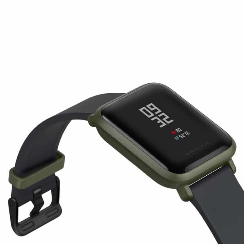 Смарт-часы Xiaomi Huami Amazfit Bip: 1,28″ OLED экран, Bluetooth вызовы, СМС, IP68, шагомер, пульсометр, GPS, заряд на 45 дней 215828