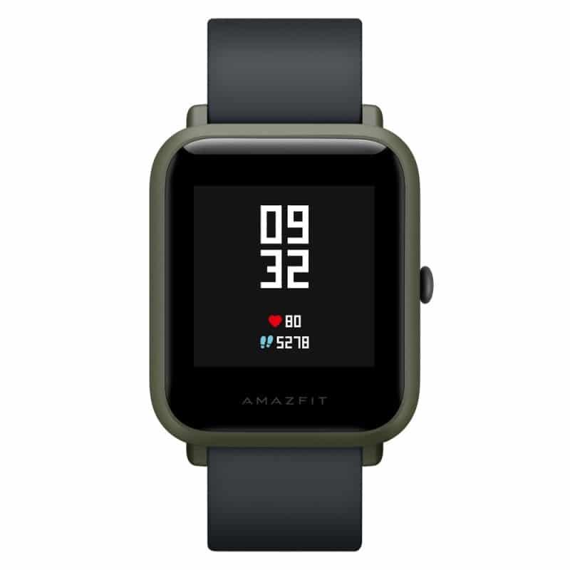 Смарт-часы Xiaomi Huami Amazfit Bip: 1,28″ OLED экран, Bluetooth вызовы, СМС, IP68, шагомер, пульсометр, GPS, заряд на 45 дней 215829