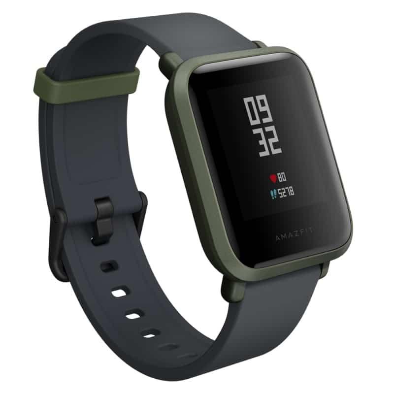 Смарт-часы Xiaomi Huami Amazfit Bip: 1,28″ OLED экран, Bluetooth вызовы, СМС, IP68, шагомер, пульсометр, GPS, заряд на 45 дней 215830