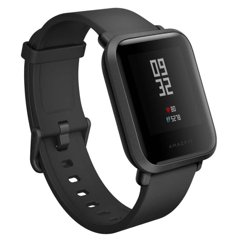 Смарт-часы Xiaomi Huami Amazfit Bip: 1,28″ OLED экран, Bluetooth вызовы, СМС, IP68, шагомер, пульсометр, GPS, заряд на 45 дней 215833