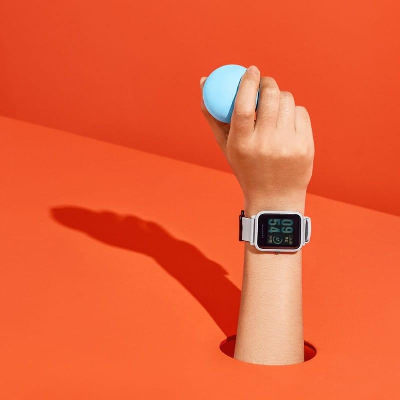 Смарт-часы Xiaomi Huami Amazfit Bip: 1,28″ OLED экран, Bluetooth вызовы, СМС, IP68, шагомер, пульсометр, GPS, заряд на 45 дней 215838