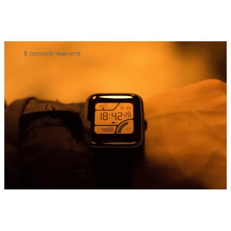 Смарт-часы Xiaomi Huami Amazfit Bip: 1,28″ OLED экран, Bluetooth вызовы, СМС, IP68, шагомер, пульсометр, GPS, заряд на 45 дней 215840