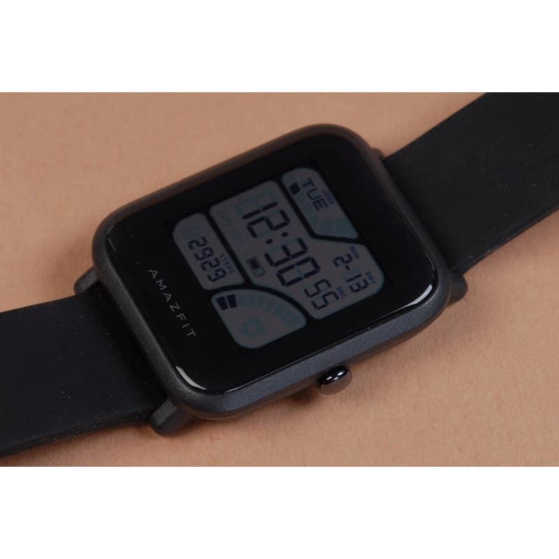 Смарт-часы Xiaomi Huami Amazfit Bip: 1,28″ OLED экран, Bluetooth вызовы, СМС, IP68, шагомер, пульсометр, GPS, заряд на 45 дней 215842