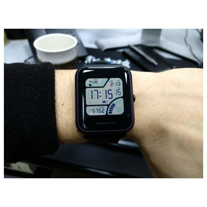 Смарт-часы Xiaomi Huami Amazfit Bip: 1,28″ OLED экран, Bluetooth вызовы, СМС, IP68, шагомер, пульсометр, GPS, заряд на 45 дней 215847