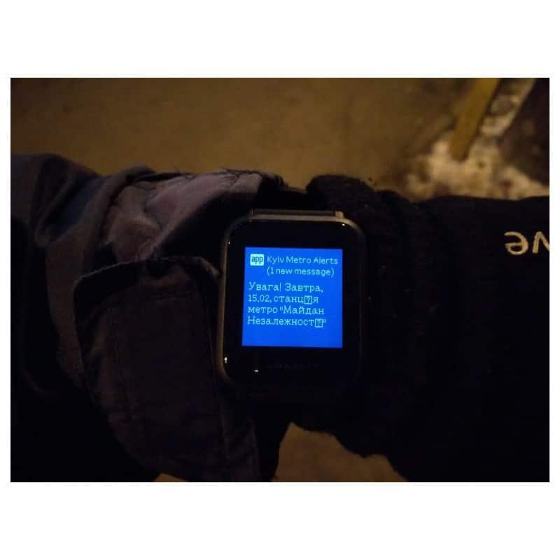 Смарт-часы Xiaomi Huami Amazfit Bip: 1,28″ OLED экран, Bluetooth вызовы, СМС, IP68, шагомер, пульсометр, GPS, заряд на 45 дней 215848