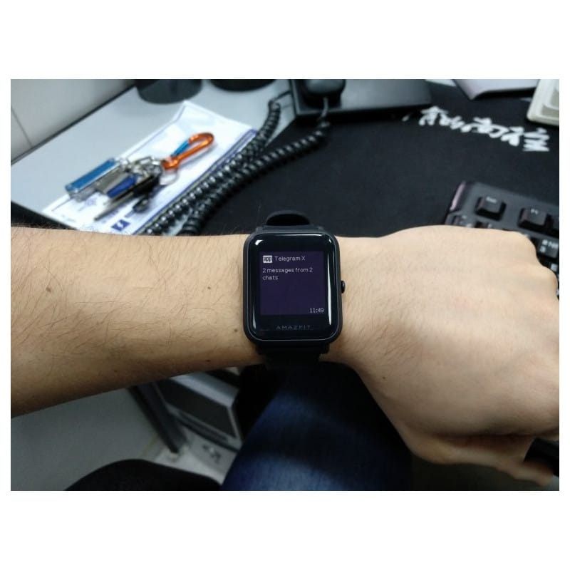 Смарт-часы Xiaomi Huami Amazfit Bip: 1,28″ OLED экран, Bluetooth вызовы, СМС, IP68, шагомер, пульсометр, GPS, заряд на 45 дней 215849