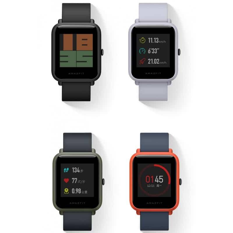 Смарт-часы Xiaomi Huami Amazfit Bip: 1,28″ OLED экран, Bluetooth вызовы, СМС, IP68, шагомер, пульсометр, GPS, заряд на 45 дней 215852