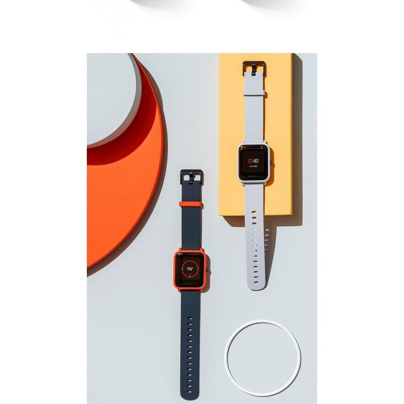 Смарт-часы Xiaomi Huami Amazfit Bip: 1,28″ OLED экран, Bluetooth вызовы, СМС, IP68, шагомер, пульсометр, GPS, заряд на 45 дней 215856
